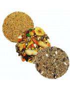Mixturas para canarios,jilgueros,agapornis,exoticos y otras aves,comida para pajaros