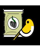 Alimentación para aves,Canarios,Jilgueros,Agaporni Comida para pájaros